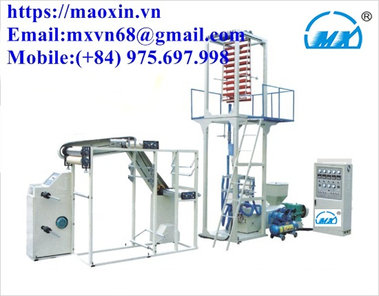 MX-CM-700 Zipper Bag Film Blowing Machine Unit