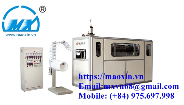 MX–YGC-650 Plastic Cup Thermoforming Machine