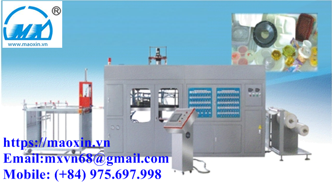 MXRC 51- 71/122 Automatic Plastic Lid Thermoforming Machine