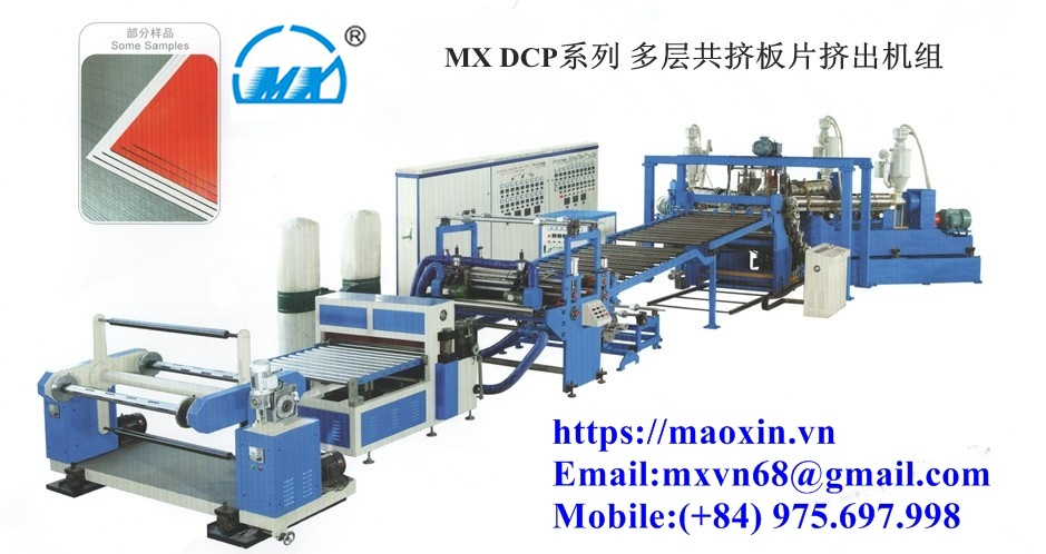 MXDCP Series Multi Sheet Making Machine