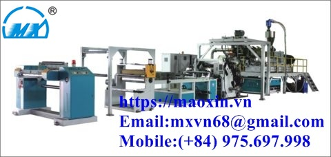 MX-SJ Pet Double Srew Extrusion Sheet Machine