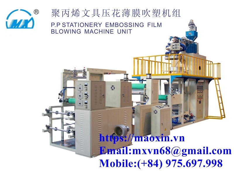 Bag Making And Blowing Machine MXCM- PP Line