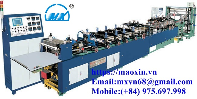 MX- SERIES OF FULL AUTOMATIC BAG MAKING MACHINE FOR THREE –SIDE SEAL, STANDING AND ZIPPER