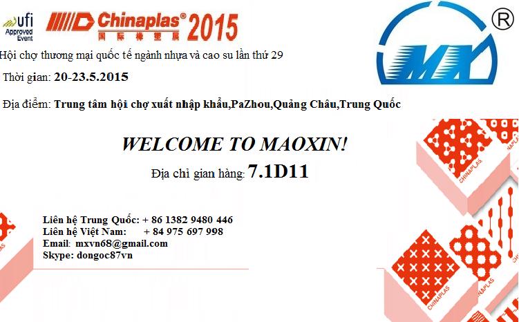 Hội chợ thương mại quốc tế ngành nhựa và cao su lần thứ 29-GUANGZHOU,CHINA