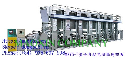 ELECTRIC AUTOMATIC SIX COLOR PRINTING MACHINE