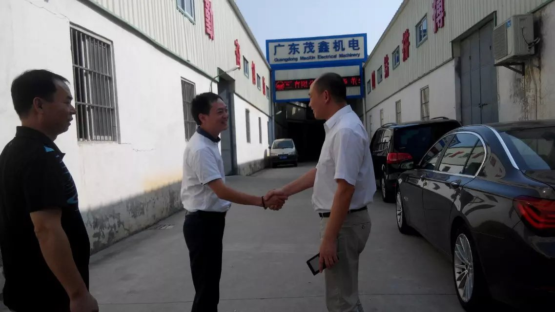 Khách hàng công ty Hua Bao thăm nhà xưởng Maoxin