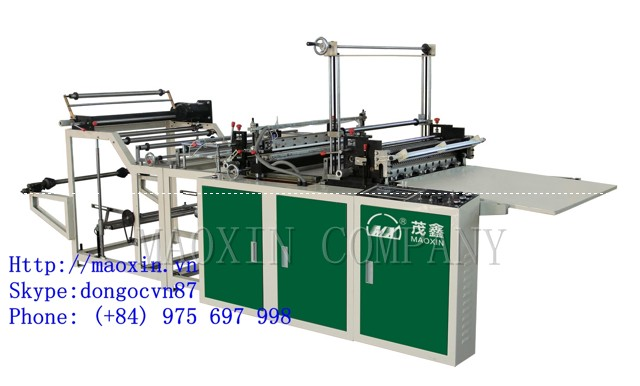 MXFQ-LQ Cold Cutting Without Tension Bag Making Machine