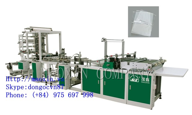 MXRQD+Z SERIES Automatic Zipper Bag Making Machine
