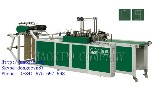 MXFQ2 Double Channels Bottom-seal(double photocell tracking) Bag Making Machine