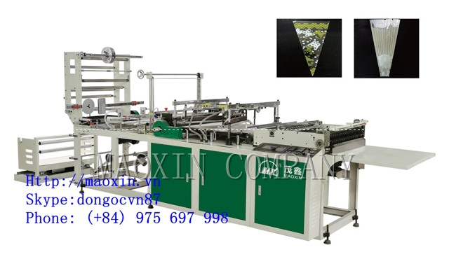MXXH-Flowers bag making machine