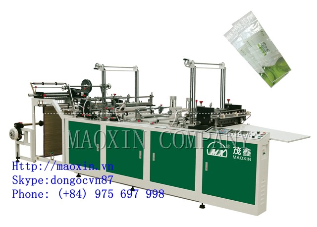 MXFQ+P SERIES Automatic Outside Patch Bag Making Machine