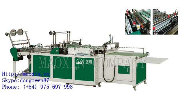 MXRQ2- Double Channel Side Sealing Bag Making Machine