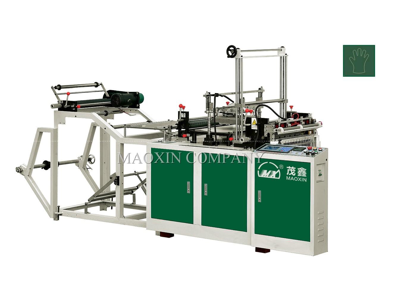 Máy làm gang tay dùng 1 lần hoàn toàn tự động MXFQ+G-500