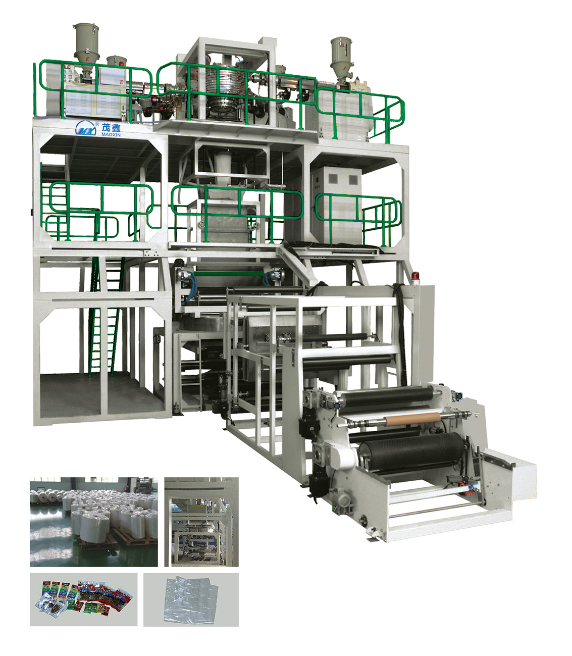Three Layer ABA LDPE Film Blowing Machine