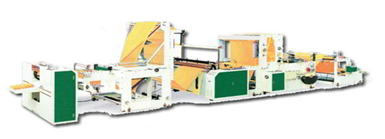High Speed Plastic Drawstring Rolling Bag Making Machine